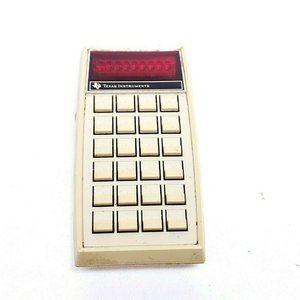 Vtg Texas Instrument TI-1270 Electronic Calculator